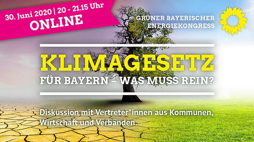 Aufzeichnung Grunes Online Seminar Klimagesetz Fur Bayern Was Muss Rein
